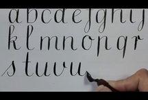 calligraphy... pretty writing