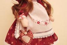 stojící panenky