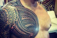 Samoan Tattoos / http://fabulousdesign.net/samoan-tattoos/