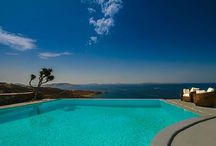 Villa Pools with a View On Mykonos / Villa Pools with a View on Mykonos