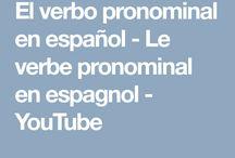 Grammaire espagnole Conjugaisons