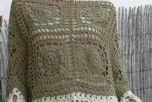 Crochet tops adults