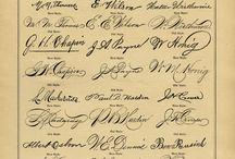 Handwriting and Calligraphy