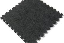 Carpet Topped Foam Tiles