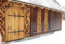 Viking stany, budovy,....