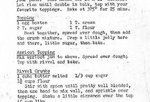 Kuchen (and German/Russian Recipes) / by Jennifer Beaudry
