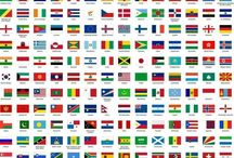 Nationality Mix / A collection of some of the Nationalities we have recieved on our English language courses over the years!