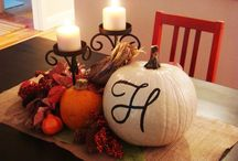 Thanksgiving ideas / Decorating & Recipe ideas