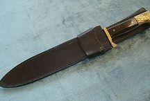 Rare Golden Eagles Solingen Hunting Knife