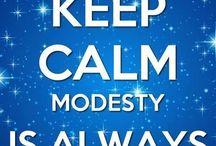 modest dress code