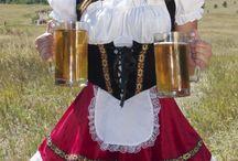 Oktoberfest dívky
