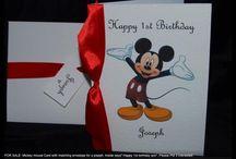Cards - Disney / homemade Disney cards / by Bethany Borden