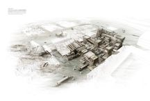 Planning | Renders / 3D visualization of urban and landscape planning