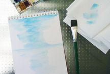 Art Journals / Samples of journals & technique