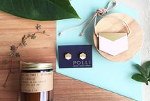 Mother's Day Gift Packs / 2016 Mother's Day gift packs / We've got your Mother's Day gift sorted! Two awesome little gift packs including two pieces of Polli jewellery and one P.F Candle Co. Candle in Sweet Grapefruit.