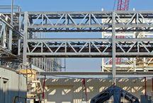 Modular Pipe Racks & Bridges / Modular #pipe racks and bridges are designed for holding multiple pipes to transfer #bulk liquid products.