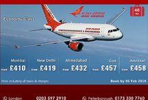 Air India flights offer 2016