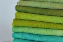 Cores: Verde, refrescante dom da Natureza!