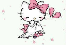 Hello kitty triste