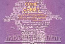 Come unto Christ / Theme ideas for youth conference / by Kristine Haskell