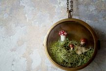 Woodland / Who doesn't love moss, tiny mushrooms and adorable little animals?!