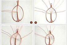 DIY Wire Wrap Jewelry