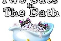 My Cafe Press Shop: Two Naughty Cats in the Bath-CafePress / My CafePress shop of the same name. It can be found at http://www.cafepress.com/2CatsInBath