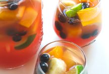 Summer Drinks / Beverages intended for patios and sunshine - or making you feel as though it's a beautiful summer day throughout the rest of the year!