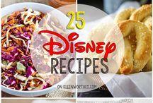 Disney inspired food