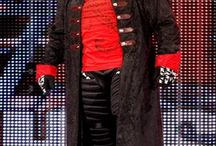 TNA Sting Red and Black Coat