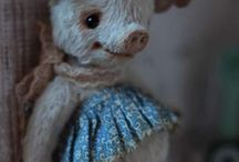 Inspiration  dolls and animals
