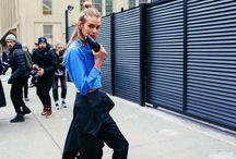 Street Style - New York Fashion Week 2016 & Milan FW 2016