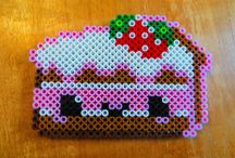 Hama Beads - Cake