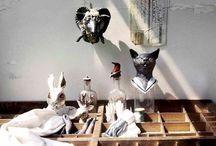 michiyo yamashita's work / There are michiyo syamashita's ceramic works.