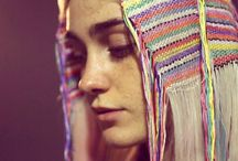 HAIR TAPESTRY / trend summer / autumn 2015. Love the creativity!