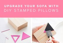 Stamps are everywhere DIY