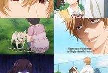 Ookami Shoujo To Kuro Ouji /  I am not the one behind the text of the pictures or gifs