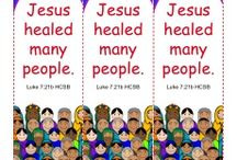 Jesus Healed Many People Bible Activities / In Luke 7, we read about Jesus healing many people who were brought to him. These Bible activities for children will teach kids about this event and remind them that Jesus is the Son of God with great power.