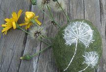 Carded wool waldorf