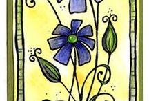 Scrapbooking Woodware Stamps