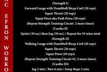 Zack Efron workout