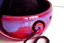 accessoires  tricot / objets liés au tricot   yarn bowl