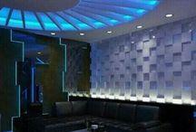 lighting and decorating room of karaoke