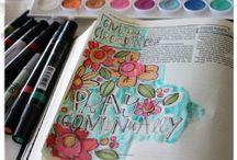 Bible Journaling / by Melissa Emma