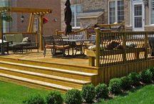 Cedar Deck Complete with Pergola