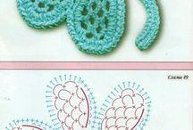 diagramas de crochet irlandes