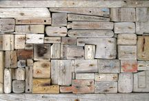 wood, rustic, drift, found / collected, assembled, arranged