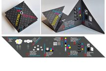 Brochure/CV folds