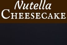 Nutella cheesecake