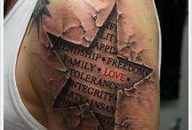 Interesting tattoos